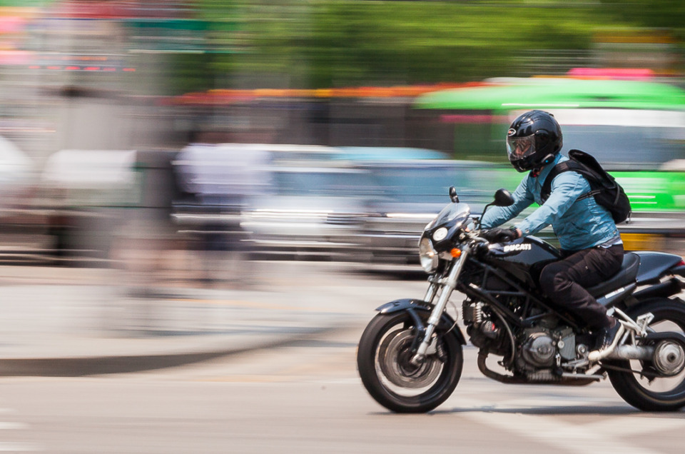 Create Motion Blur Using Panning