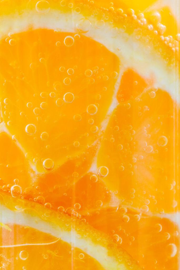 Orange Slices in drink