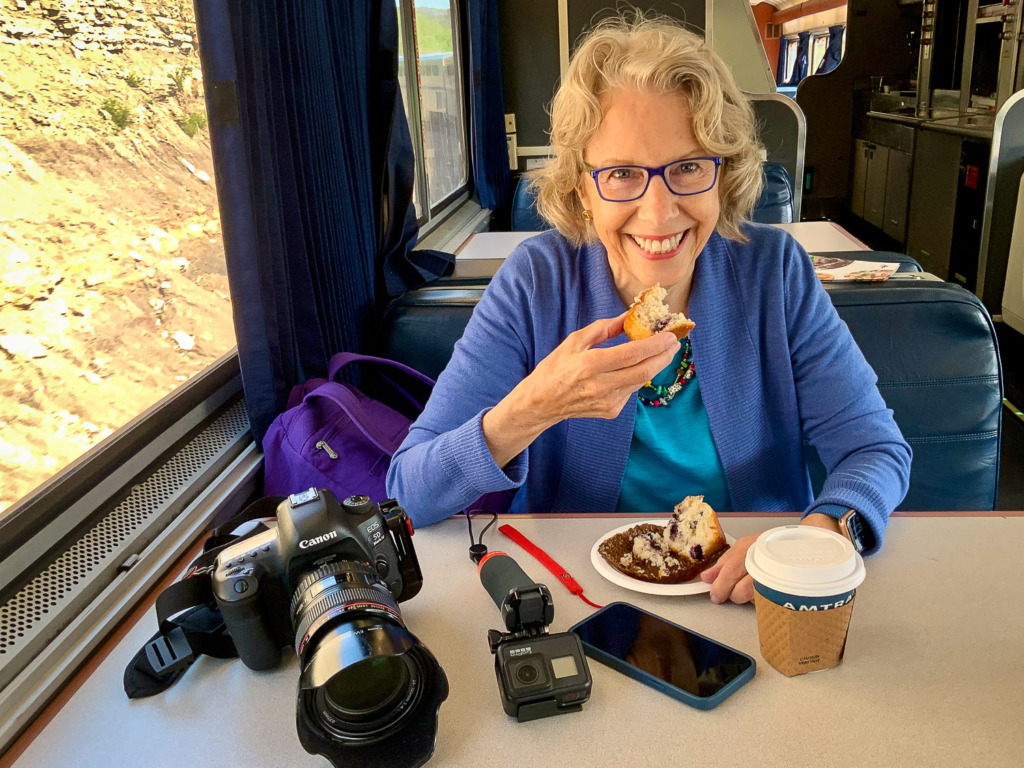 Bring your cameras when you ride Amtrak